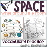 Space Vocabulary Write The Room