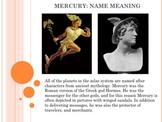Space Vol. 3 - Mercury And Venus - PowerPoint Presentation Slideshow