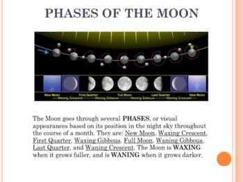 Space Vol. 4 - The Moon - PowerPoint Presentation Slideshow