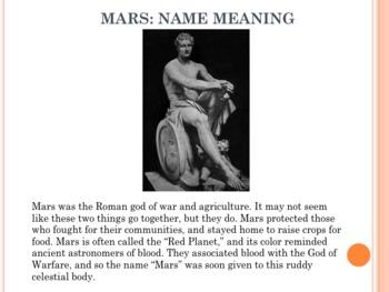 Space Vol. 5 - Mars - PowerPoint Presentation Slideshow