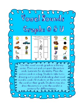 Space Vowel Sounds Sort and Graph