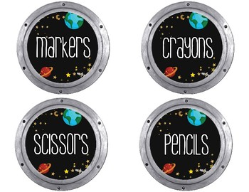 Space Walk Classroom Mini Decor Bundle