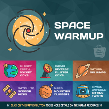 Space Warmup | Physical Education Exercises
