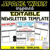 Space Theme Newsletter Template