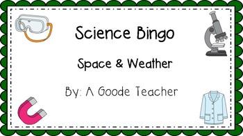 Space & Weather Bingo
