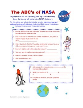 Space Webquest