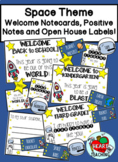 Space Welcome Notecards, Positive notes and Open House Labels