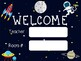 Space Welcome Sign