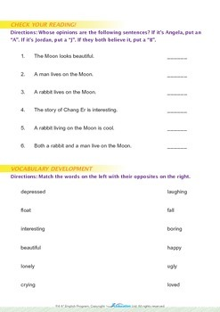 Space - What's On The Moon? - Grade 4