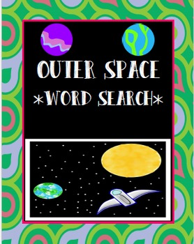 Space Word Search *FREEBIE*