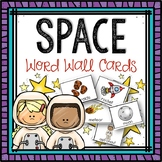 Word Wall Cards: Space