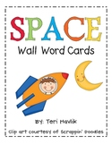Space Word Wall Cards