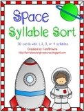 Space Words Syllable Sort