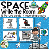 Space Write the Room - 16 cards four versions, four recording sheets