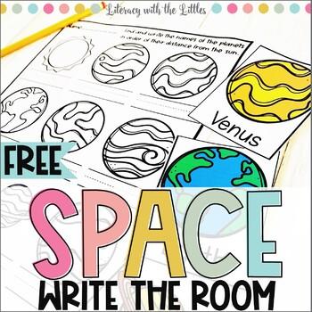 Space Write the Room Freebie