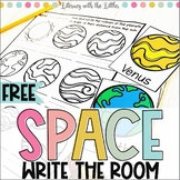 Space Write the Room Freebie