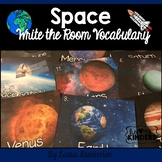 Space Write the Room Vocabulary