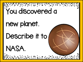 Space Writing Prompts