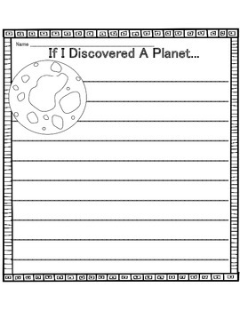 Space Writing Prompts By Heather J Teachers Pay Teachers
