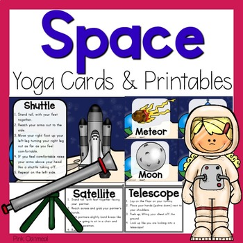 image about Yoga Cards Printable called Region Yoga Playing cards and Printables
