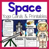 Space Yoga Cards and Printables