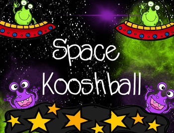 Space and Alien Kooshball Game  for SMARTboard