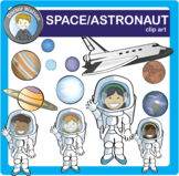 Space and Astronaut Clipart