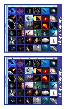 Space and Astronomy Battleship Board Game