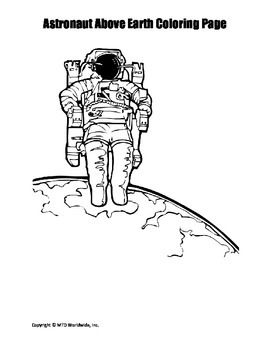 Space and Astronomy Coloring Pages Bundle