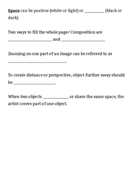 Space and Composition in Art
