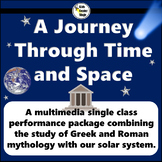 Space and Greek and Roman Mythology themed script for single class