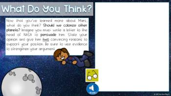 Space and Mars Exploration: Digital Persuasive Activity