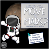 Space and Mars Exploration: Digital Persuasive Activity