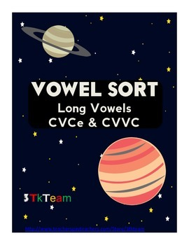 Space and Planet Long Vowel Sort