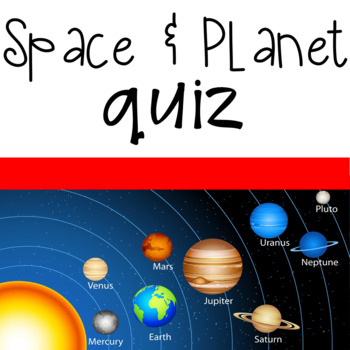 Space and Planet Quiz