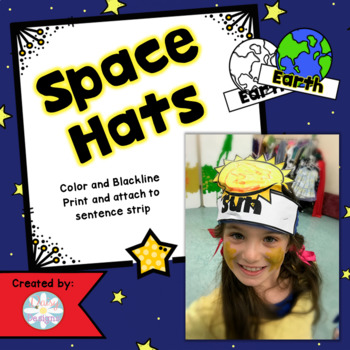 Space and Planets Hats