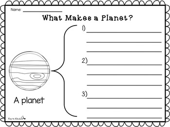 Space Math and Literacy Activities