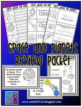 Space and Planets Review Packet