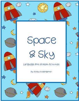 Space and Sky Language Arts & Math Activities