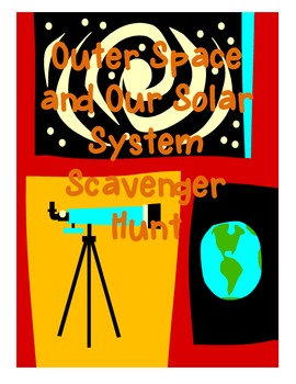 Space and Solar System Scavenger Hunt