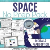Outer Space, Solar System, and Planets - Digital No Prep S