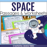 Outer Space, Solar System, and Planets - Digital No Prep Space Google Slides