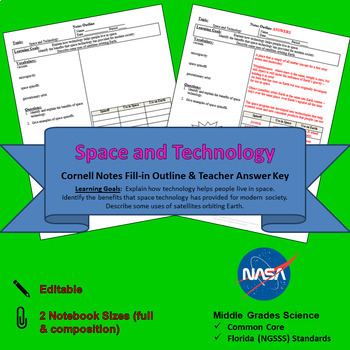 Space and Technology Cornell Notes #26