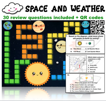Science Review Board Game: Space and Weather