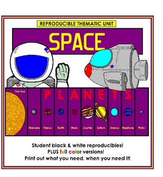 Space and the Planets Thematic Unit