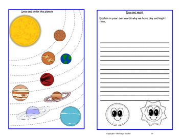 Space and the Solar System Workbook