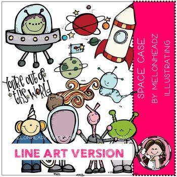 Space case bundle by Melonheadz LINE ART