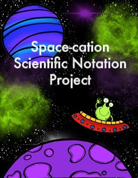 Space-cation Scientific Notation Project
