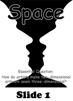 Elements of Art: Space Mini-Lesson Powerpoint
