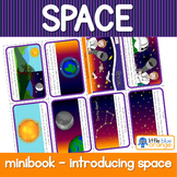 Space - introducing space - mini book